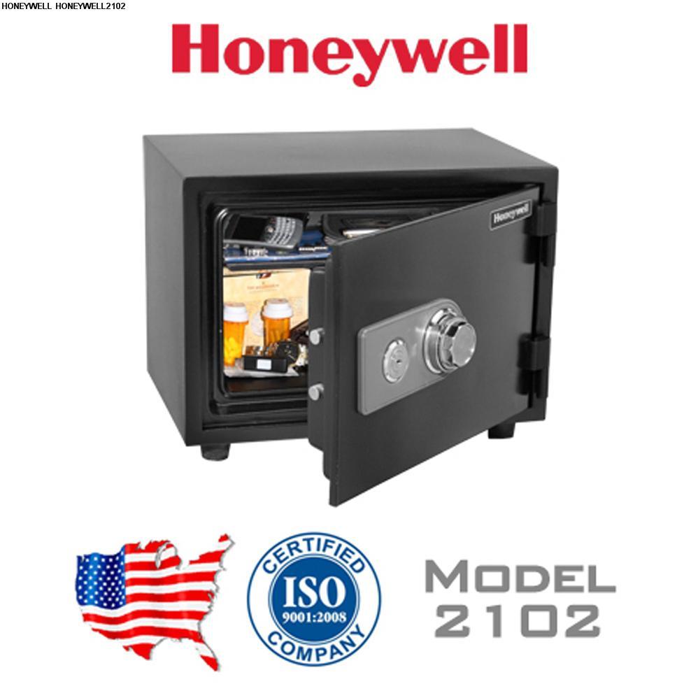 Két sắt chống cháy, chống nước Honeywell 2102 khoá cơ ( Mỹ )
