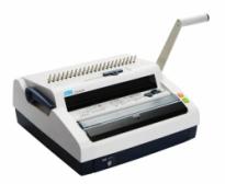 Máy đóng sách gáy xoắn nhựa và kẽm DSB CW-150E