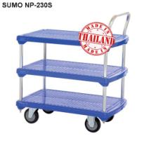 Xe đẩy hàng sàn nhựa SUMO NP-230S