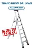 Thang nhôm chữ A Đài Loan 6 bậc Advindeq APS-06