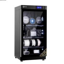 Tủ chống ẩm cao cấp Nikatei NC-50S viền nhôm mạ bạc