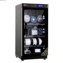 Tủ chống ẩm cao cấp Nikatei NC-50S viền nhôm mạ vàng
